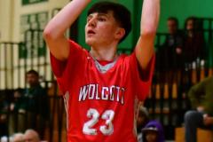 CIAC Boys Basketball : Torrington 58 vs. Wolcott 56 - Photo #492