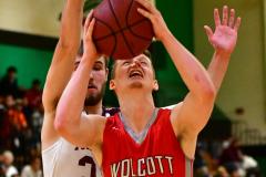 CIAC Boys Basketball : Torrington 58 vs. Wolcott 56 - Photo #499