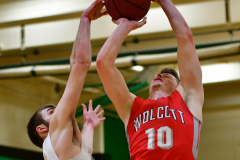 CIAC Boys Basketball : Torrington 58 vs. Wolcott 56 - Photo #503