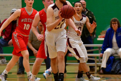 CIAC Boys Basketball: Torrington 58 vs. Wolcott 56 - Photo # 506