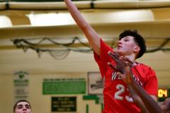 CIAC Boys Basketball : Torrington 58 vs. Wolcott 56 - Photo #515