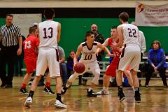 CIAC Boys Basketball : Torrington 58 vs. Wolcott 56 - Photo #519