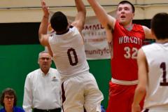 CIAC Boys Basketball : Torrington 58 vs. Wolcott 56 - Photo #526