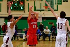 CIAC Boys Basketball : Torrington 58 vs. Wolcott 56 - Photo #531