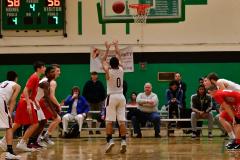 CIAC Boys Basketball : Torrington 58 vs. Wolcott 56 - Photo #540