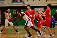 CIAC Boys Basketball : Torrington 58 vs. Wolcott 56 - Photo #543