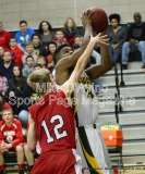 CIAC Boys Basketball Tourn. Class M, FR - #5 Holy Cross 73 vs. #28 Wamogo 34 - Photo # (13)