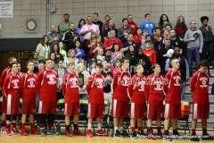 CIAC Boys Basketball Tourn. Class M, FR - #5 Holy Cross 73 vs. #28 Wamogo 34 - Photo # (5)