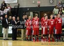 CIAC Boys Basketball Tourn. Class M, FR - #5 Holy Cross 73 vs. #28 Wamogo 34 - Photo # (6)