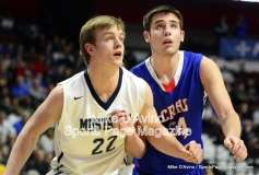 CIAC Boys Basketball Tourn. Class S, Finals - Focused on #11 Coginchaug vs. #1 Immaculate - Photo # (114)