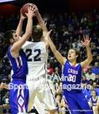 CIAC Boys Basketball Tourn. Class S, Finals - Focused on #11 Coginchaug vs. #1 Immaculate - Photo # (154)