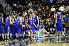 CIAC Boys Basketball Tourn. Class S, Finals - Focused on #11 Coginchaug vs. #1 Immaculate - Photo # (88)