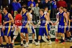 Gallery CIAC Boys Basketball Tournament Class M SF: #10 Tolland 70 vs. #11 Brookfield 73