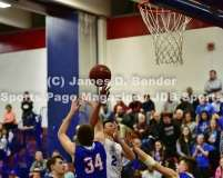 Gallery CIAC Boys Basketball Tournament Class S 2nd Round: #8 St. Paul Catholic 54 vs. #9 Coginchaug 49
