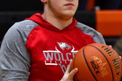 CIAC Boys Basketball; Watertown 63 vs. Wolcott 73 - Photo # 009