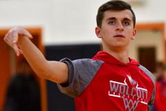 CIAC Boys Basketball; Watertown 63 vs. Wolcott 73 - Photo # 024