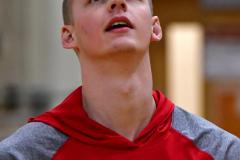 CIAC Boys Basketball; Watertown 63 vs. Wolcott 73 - Photo # 025