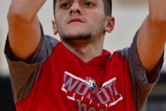 CIAC Boys Basketball; Watertown 63 vs. Wolcott 73 - Photo # 048