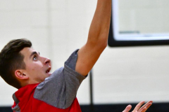 CIAC Boys Basketball; Watertown 63 vs. Wolcott 73 - Photo # 053