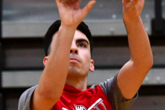 CIAC Boys Basketball; Watertown 63 vs. Wolcott 73 - Photo # 056