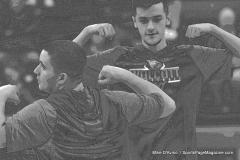 CIAC Boys Basketball; Watertown 63 vs. Wolcott 73 - Photo # 098