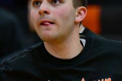 CIAC Boys Basketball; Watertown 63 vs. Wolcott 73 - Photo # 120b