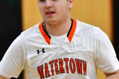 CIAC Boys Basketball; Watertown 63 vs. Wolcott 73 - Photo # 121