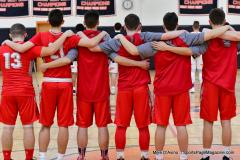 CIAC Boys Basketball; Watertown 63 vs. Wolcott 73 - Photo # 136