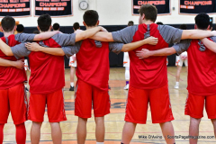 CIAC Boys Basketball; Watertown 63 vs. Wolcott 73 - Photo # 137