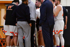 CIAC Boys Basketball; Watertown 63 vs. Wolcott 73 - Photo # 139