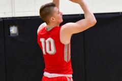CIAC Boys Basketball; Watertown 63 vs. Wolcott 73 - Photo # 170