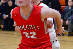 CIAC Boys Basketball; Watertown 63 vs. Wolcott 73 - Photo # 181