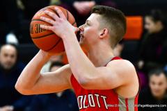 CIAC Boys Basketball; Watertown 63 vs. Wolcott 73 - Photo # 195