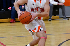 CIAC Boys Basketball; Watertown 63 vs. Wolcott 73 - Photo # 200