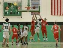 Gallery CIAC Boys Basketball; Wilby 80 vs. Wolcott 59 - Photo # (115)