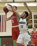 Gallery CIAC Boys Basketball; Wilby 80 vs. Wolcott 59 - Photo # (178)