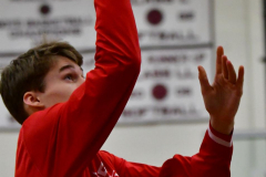 CIAC Boys Basketball; Wolcott 47 vs. Greenwich 76 - Photo # 001