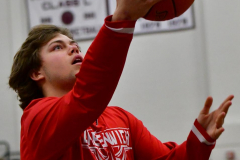CIAC Boys Basketball; Wolcott 47 vs. Greenwich 76 - Photo # 005
