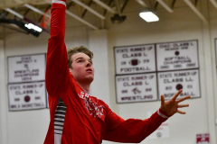 CIAC Boys Basketball; Wolcott 47 vs. Greenwich 76 - Photo # 009