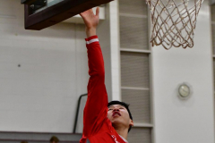 CIAC Boys Basketball; Wolcott 47 vs. Greenwich 76 - Photo # 011