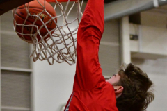CIAC Boys Basketball; Wolcott 47 vs. Greenwich 76 - Photo # 012