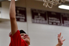 CIAC Boys Basketball; Wolcott 47 vs. Greenwich 76 - Photo # 027