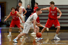 CIAC Boys Basketball; Wolcott 47 vs. Greenwich 76 - Photo # 173