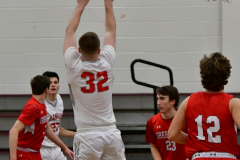 CIAC Boys Basketball; Wolcott 47 vs. Greenwich 76 - Photo # 206
