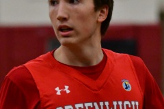 CIAC Boys Basketball; Wolcott 47 vs. Greenwich 76 - Photo # 215