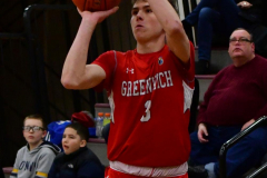 CIAC Boys Basketball; Wolcott 47 vs. Greenwich 76 - Photo # 217