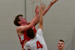 CIAC Boys Basketball; Wolcott 47 vs. Greenwich 76 - Photo # 278
