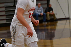 CIAC Boys Basketball; Wolcott 47 vs. Greenwich 76 - Photo # 282
