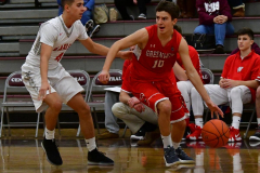 CIAC Boys Basketball; Wolcott 47 vs. Greenwich 76 - Photo # 293