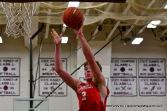 CIAC Boys Basketball; Wolcott 47 vs. Greenwich 76 - Photo # 303